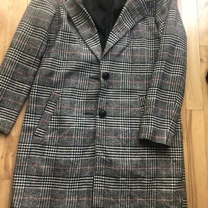 Jackets & Blazers - Plaid jacket